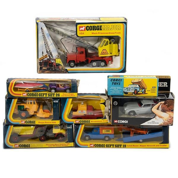 Corgi Vehicles in original boxes
