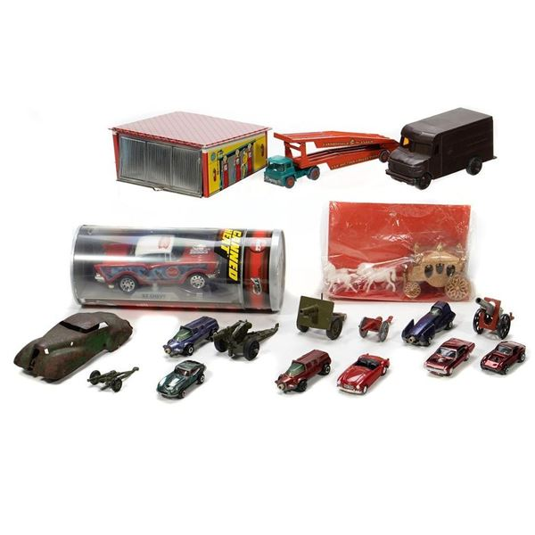 Johnny Lightnng, die cast cannons and more