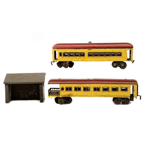 Home Made Passenger Cars and Station