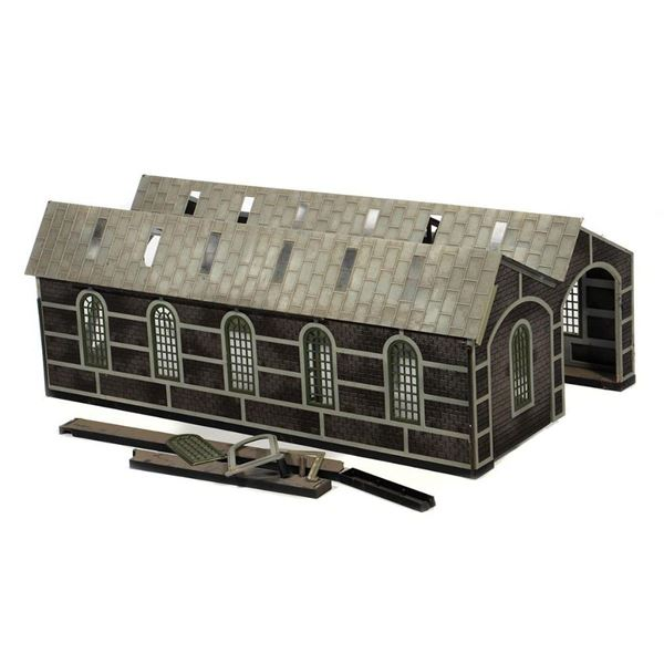 G Scale Engine House Project
