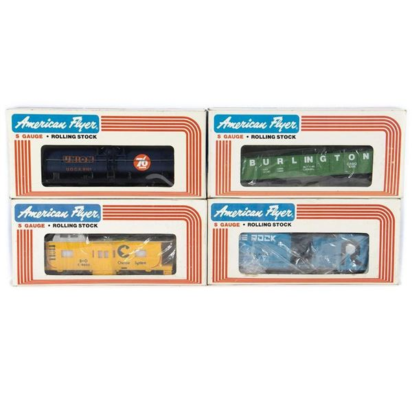 American Flyer by Lionel S Gauge 1980 Freight Cars.