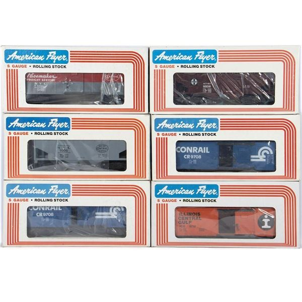 American Flyer by Lionel S Gauge Freight Cars