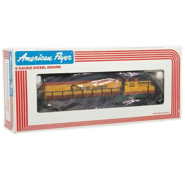 American Flyer by Lionel S Gauge 4-8459 GP-20 Chess System Engine