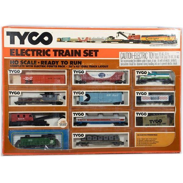 Tyco HO Number 7317 Diesel Locomotive Set