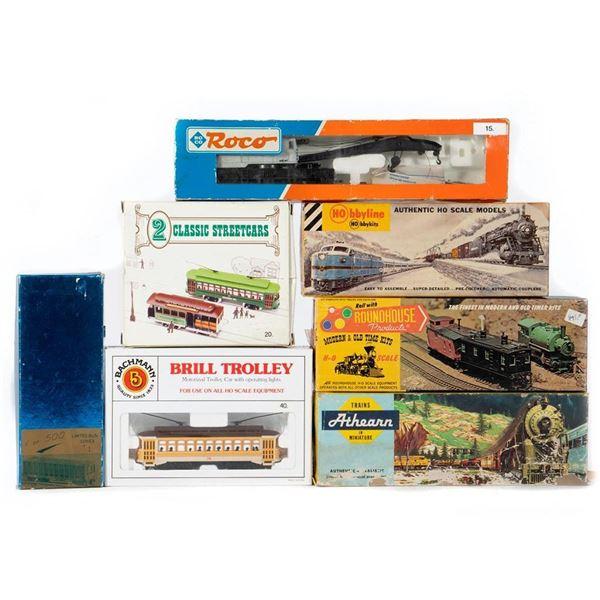 HO Scale train cars