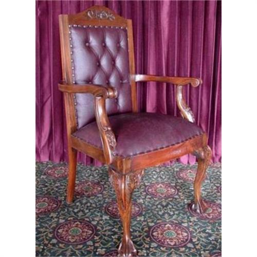 Astonishing Chippendale Ball Claw Accent Parlor Desk 1793655 Machost Co Dining Chair Design Ideas Machostcouk