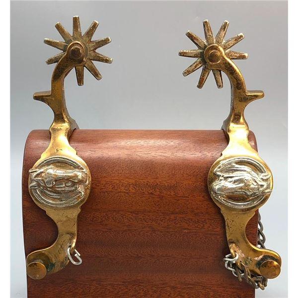 Buermann Hercules Bronze Horse Head Spurs