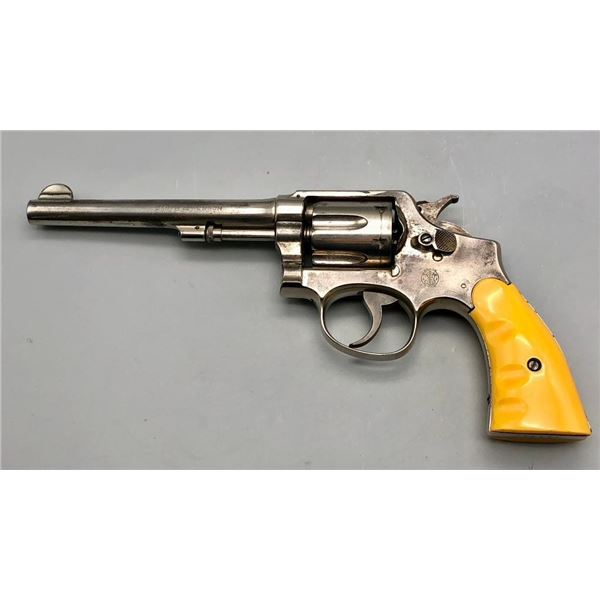 Model 1905 Smith and Wesson .38 M&P revolver