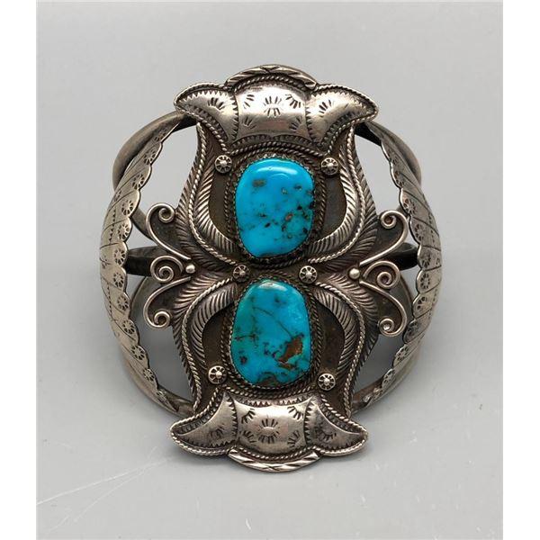Exquisite Bisbee Turquoise Bracelet