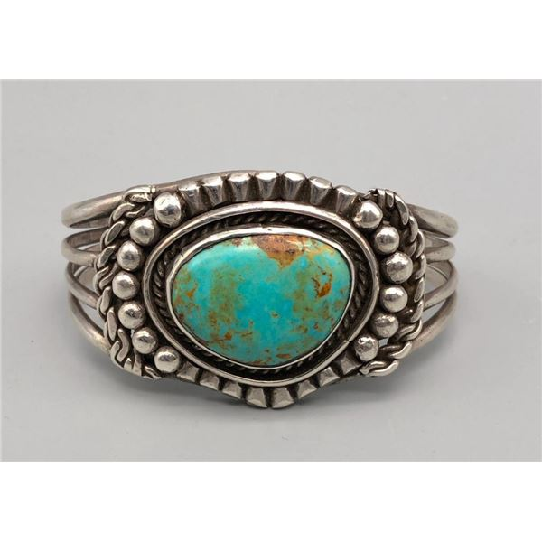 Very Nice Vintage Turquoise Bracelet