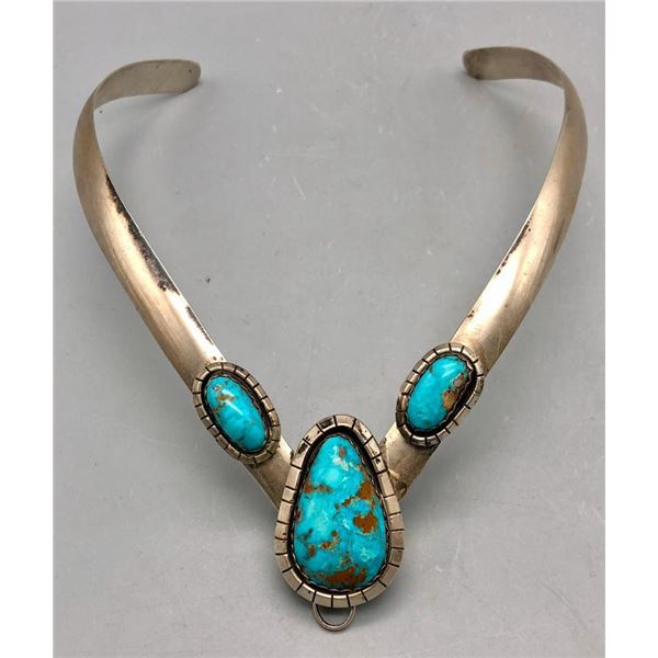 Exquisite Turquoise Choker Necklace