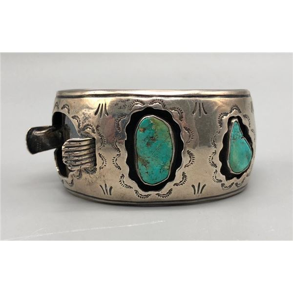 Appealing Shadow Box Style Watch Bracelet
