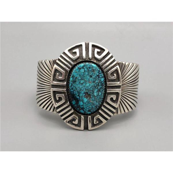 Exquisite Spiderweb Turquoise Bracelet