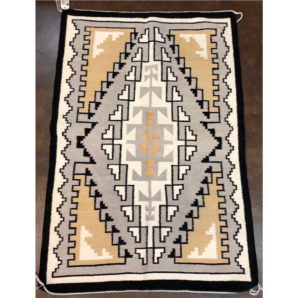 Two Grey Hills Navajo Textile