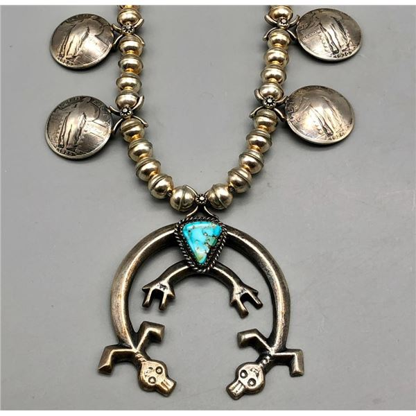 Squash Blossom Style Necklace with Yeis