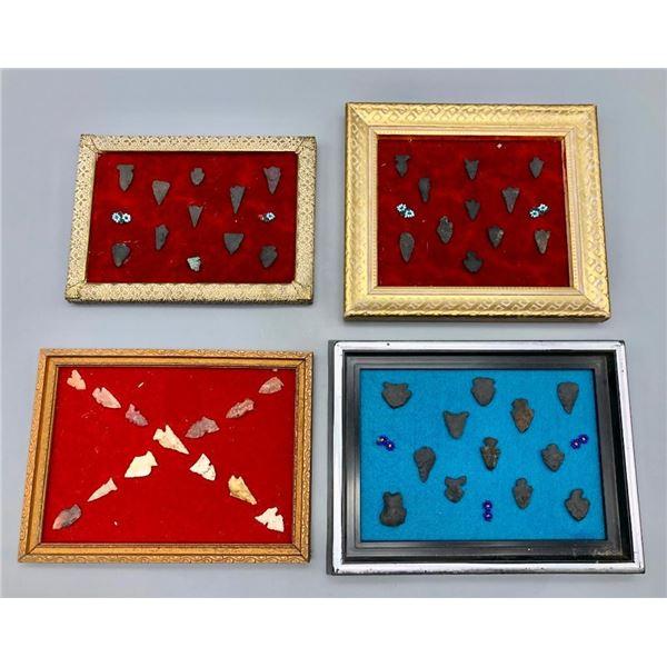 Four Frames of Arrowhead Displays