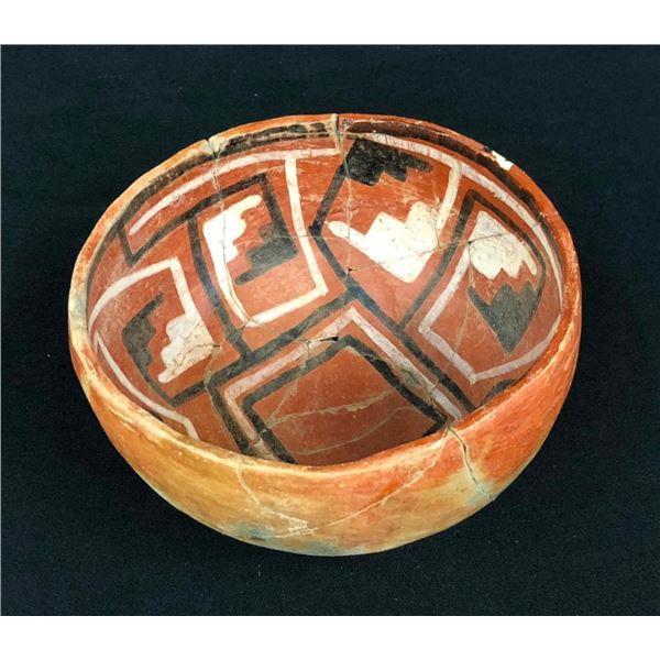 Prehistoric Anasazi 4-Mile Polychrome Pot