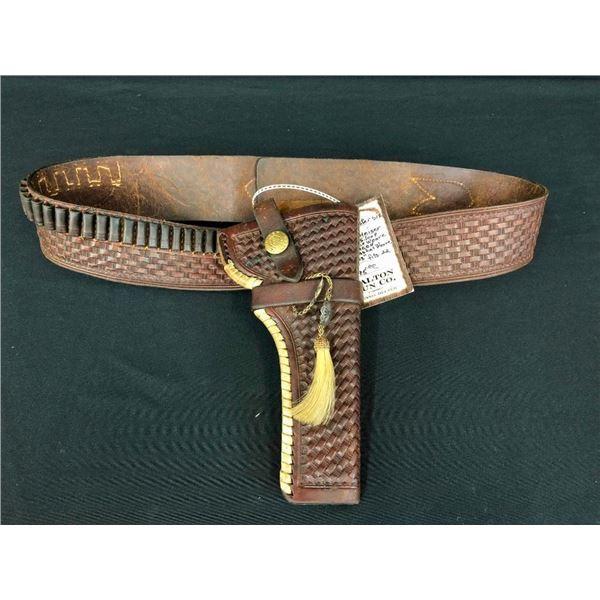 HH Heiser Gun Belt and Holster