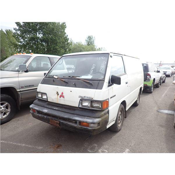 1987 Mitsubishi Vanwagon
