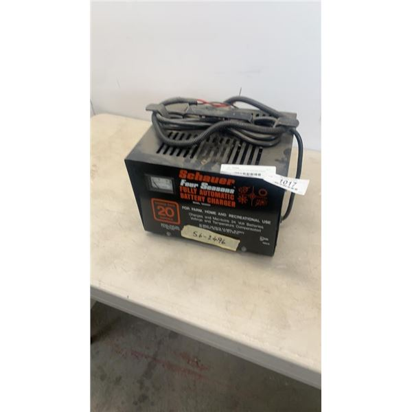 Schauer four seasons fully automatic battery charger