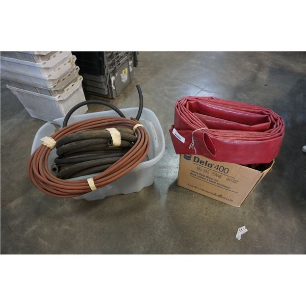Lot of hydraulic hose line discharge hose line