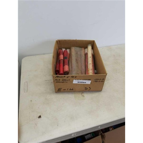 Box of flammable road flares