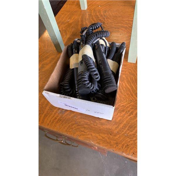 Box of microphones