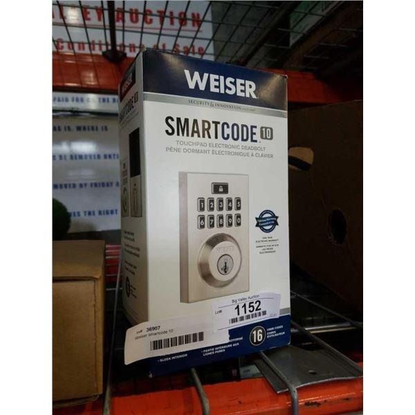 Weiser smartcode 10