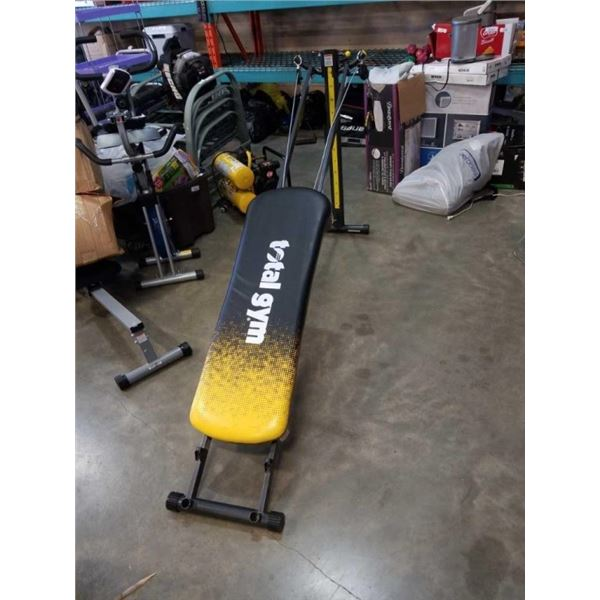 Total Gym workout bench retail $1600 on sale