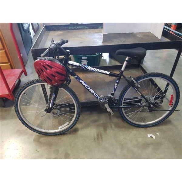 Black Norco Katmandu bike