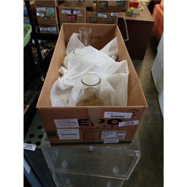 3 pyrex glass 2800ml flasks
