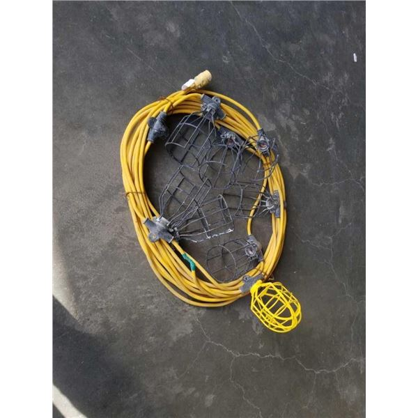 100 FOOT SHOP/CONSTRUCTION LIGHT EXTENSION CORD