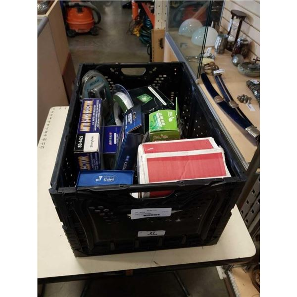 Crate of various Electronics