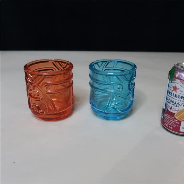 LOT: 47 TIKI TUMBLER GLASSES / VERRES TIKI