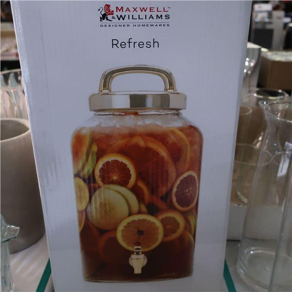 LOT: 3 DRINK DISPENSERS / DISTRIBUTEUR A BREUVAGE