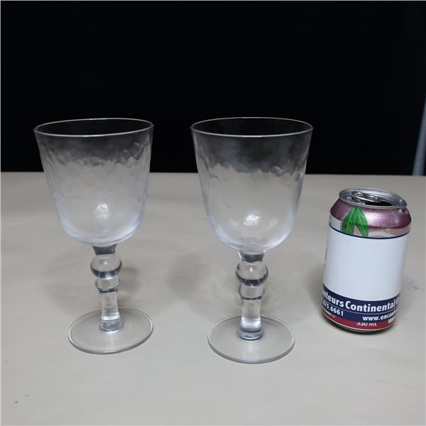 LOT: 42 WINE GLASSES (12 OZ) / VERRES A VIN