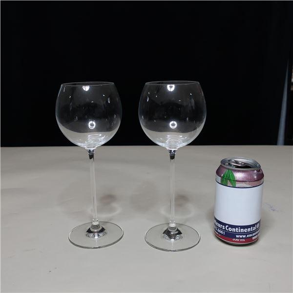 LOT: 21 WINE GLASSES (13 OZ / VERRES A VIN