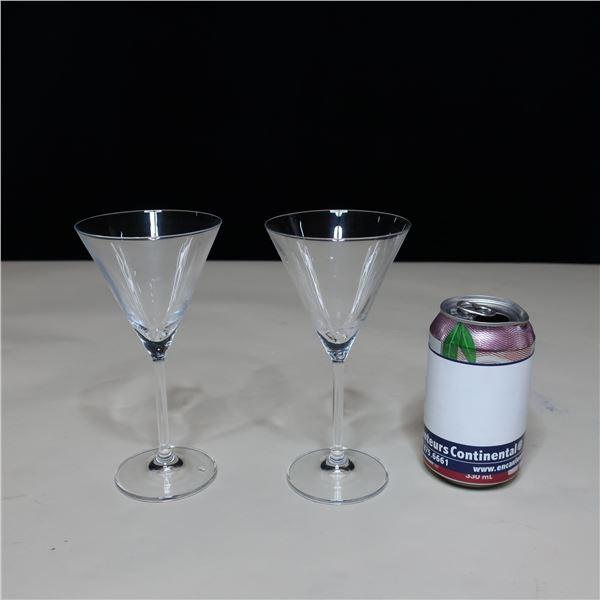 LOT: 35 COCKTAIL GLASSES (8 OZ) / VERRES A COCKTAIL