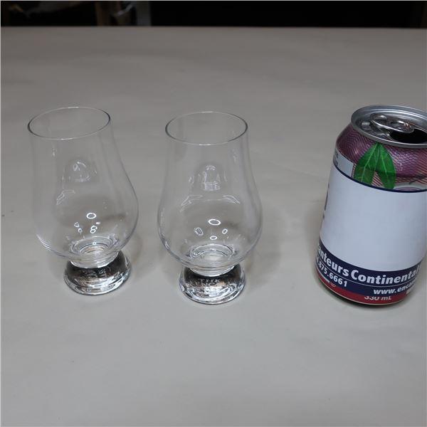 LOT: 35 WISKY GLASSES / VERRES A WHISKY