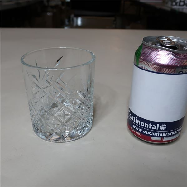 LOT: 6 PASABAHCE SCOTCH GLASSES / VERRES A SCOTCH