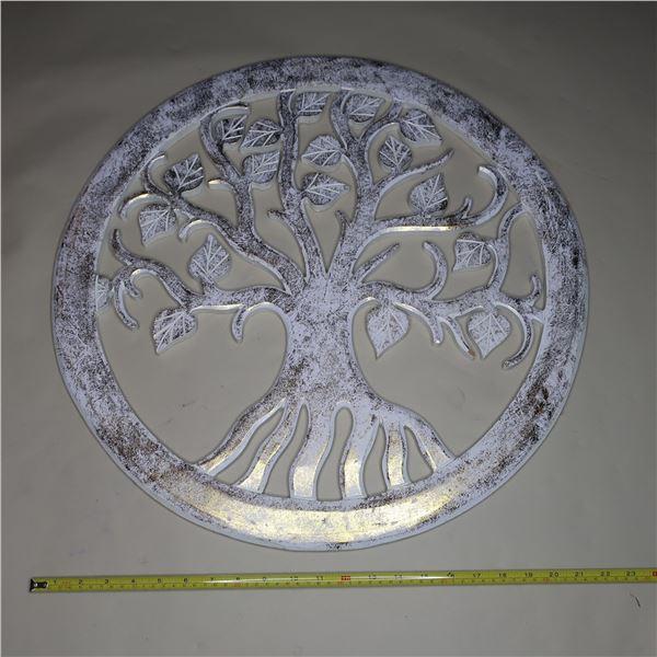 """TREE OF LIFE WALL ART 23"""" DIA.  / ARBRE DE LA VIE"""