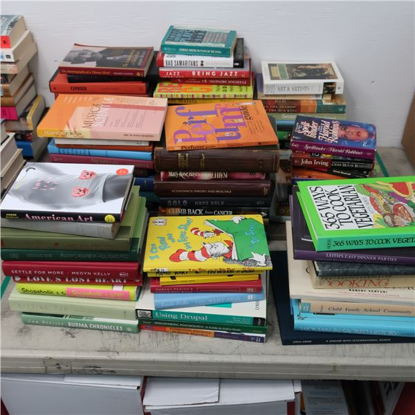 LOT: 90 BOOKS (ENGLISH) LIVRES ANGLAIS