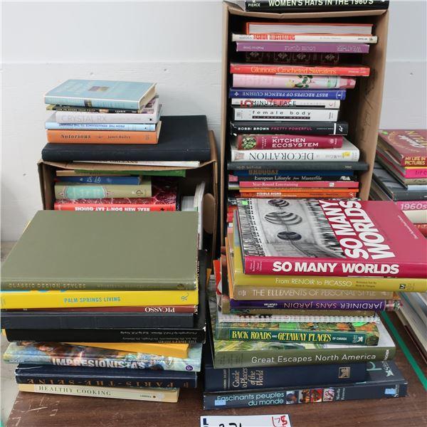 LOT: 75 BOOKS (ENGLISH) LIVRES ANGLAIS