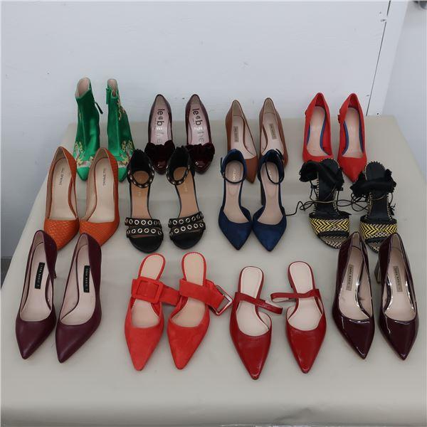 LOT: 12 ASSORTED FOOTWEAR - SIZE: 7.5-8