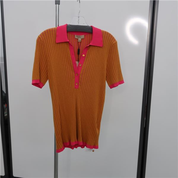 NEW - BURBERRY SHIRT - SIZE: MED, (MAIN CHARACTER)