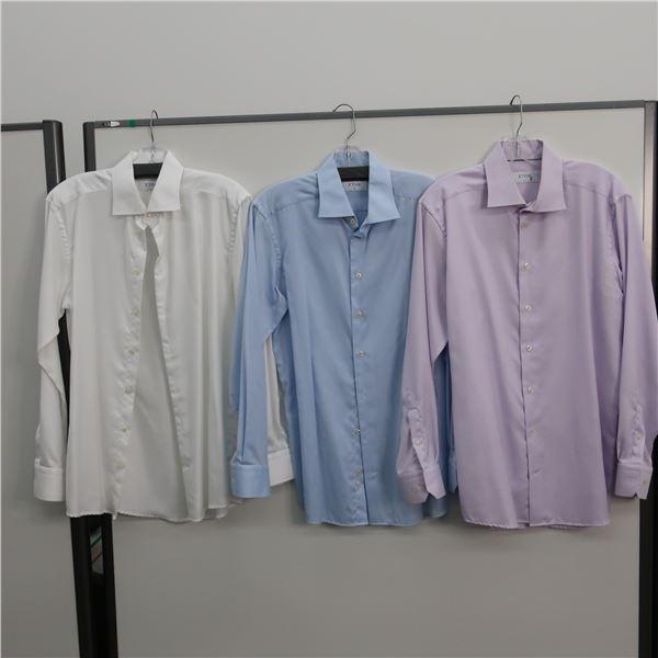 LOT: 3 MEN SHIRTS, SIZE: 16 -ETON