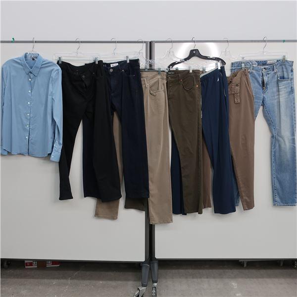 17pcs MAIN CHARACTER MEN CLOTHING (S & X-SM)