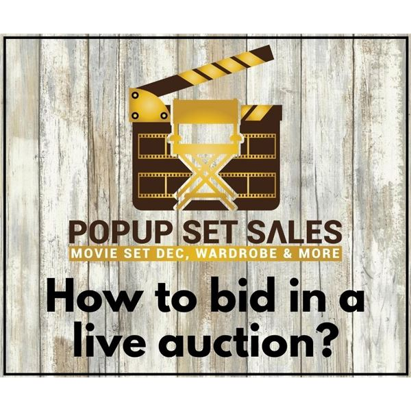 How to bid in a live auction