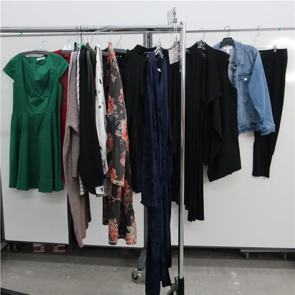 17pcs EXTRA CHARACTER WOMAN CLOTHING (X-LARGE)