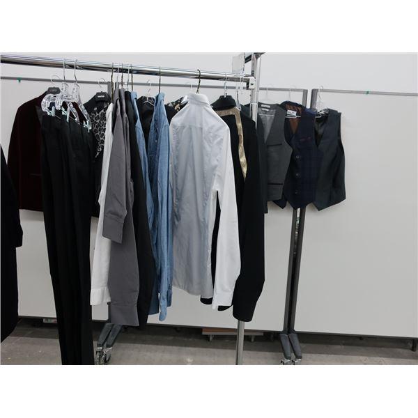 18pcs EXTRA CHARACTER MEN CLOTHING (MEDIUM)